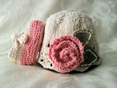 Baby Hats Knitting Knit Baby Hat Knitted Baby por CottonPickings