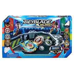 Beyblade Burst Evolution Ultimate Tournament Collection Tops and Beystadium - image 2 of 2 Toys For Boys, Kids Toys, Beyblade Toys, Pokemon Firered, Toys R Us Canada, Spinning Top, Top Toys, Beyblade Burst, Legos