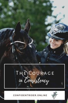 I love the word courage. Just letting the word roll through my head makes me sit a little taller. >> Confident Rider - mindset, movement and nervous system awareness for equestrians Nervous System, Equestrian, Emotional Resilience, Horse Grooming, Horse Care, Consistency, Mindset, Confidence, Relax