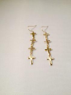 Mini Multi-Cross Earrings