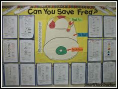 Can you save Fred? Great cooperative group activity!