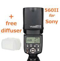 Yongnuo YN-560II for Sony a950 a900 a850 a700 a580 a560 a550 a500 a450 a390 a380 a350 a330 a300 a200 a100 a290 a230 a77 a55 a33