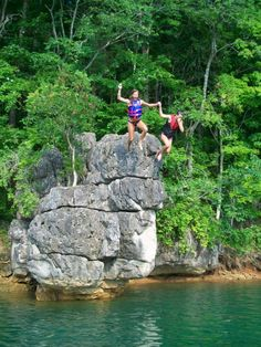 Fun for all ages. Norris Lake Tennessee