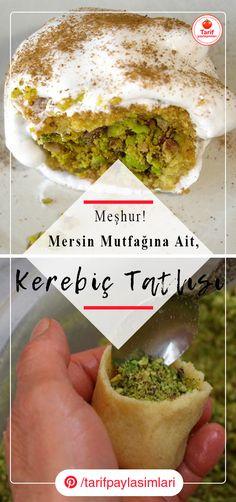 Mersin'in Meşhur Kerebiç Tatlısı Tarifi – Tatlı tarifleri – Las recetas más prácticas y fáciles Dessert Recipes, Desserts, Relleno, Guacamole, Food And Drink, Cookies, Ethnic Recipes, Sweet, Arabic Sweets