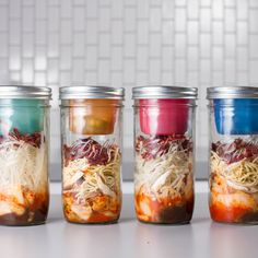 BNTO by Cuppow! Safely Separate Ingredients in a Mason Jar and take the good stuff on the go! [DIY Instant Kimchi Ramen]
