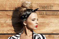 Summer DIY Hair Accessories – ZeeBerry Blog #RIPEbyZeeBerry
