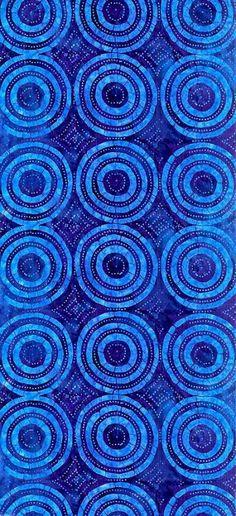 bright blue punch circles (universe mininga)