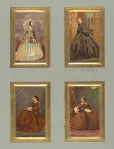 Unknown Sitters and Duchesse de Morny, bef. 1865 | In the Swan's Shadow