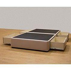 Tiffany 4-drawer Queen Platform Bed/ Storage Mattress Box