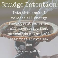 Smudging has been use for centuries to create sacred spaces and clear away negative energy. Just like many spiritual tools in order to do… energy art energy auras energy consciousness energy good vibes energy spirit science energy universe Smudging Prayer, Sage Smudging, Mantra, Spiritual Cleansing, Energy Cleansing, Tarot, Removing Negative Energy, Herbal Magic, Burning Sage