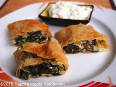 Strudel, Spanakopita, Feta, Ethnic Recipes, Tomatoes, Red Peppers, Home Made, Cooking Recipes, Food And Drinks