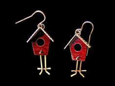 chickenscratch jewelry | Mobile Home Earrings