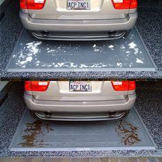 #Car #Garage Floor-Protecting Mats