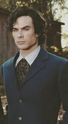 Ian Somerhalder as Damon Salvatore ❤❤❤