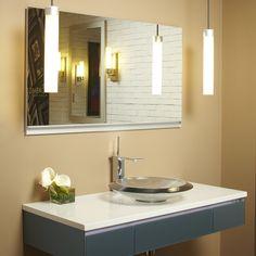 Uplift Cabinet and Uplift Pendant Light