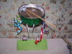 Super Music Crafts For Kids Art Projects Fun Ideas Drum Lessons For Kids, Drums For Kids, Art For Kids, Craft Projects For Kids, Art Projects, Kids Crafts, School Projects, School Ideas, Craft Ideas