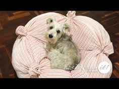 Cama para perros con sweter reciclado - YouTube