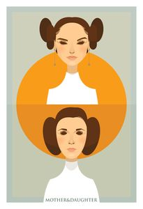 Padme & Leia | Stanley Chow