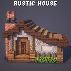 Minecraft House Plans, Easy Minecraft Houses, Minecraft Castle, Minecraft House Tutorials, Minecraft Room, Minecraft House Designs, Amazing Minecraft, Minecraft Blueprints, Minecraft Creations