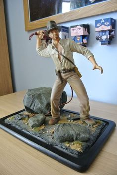 images Custom Action Figures, Making 10, Indiana Jones, Style, Dioramas, Swag, Outfits
