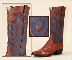 Custom Cowboy Boots & Shoes Discussion Board: Archive through December 2011 Custom Cowboy Boots, Custom Boots, Wedding Boots, Cool Boots, Other Accessories, Men's Fashion, December, Archive, Shoes