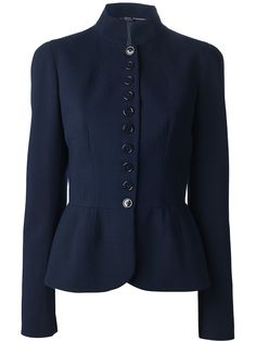 Scandal Fashion Flash: Kerry Washington's Season 3 Episode 2 Alexander McQueen Navy Fitted Military Jacket
