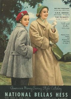 Vintage Chic////// Such wonderful coats! Like nothing else today, warm and encapsulating in comfort and cover.....prim, to some degree, combined with authority.