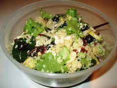 En verden af smag!: Couscoussalat med Feta og Avocado