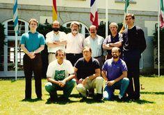 Comité de Dirección de Johnson Wax en un curso de LIDERAZGO. Euroforum 1992