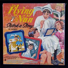 The Flying Nun Stitch-a-Story by Hasbro