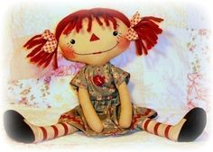 Image detail for -pdf doll pattern rag doll sewing pattern for cloth by ohsewdollin doll ...