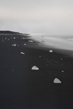 black sand beach (Iceland) by jeff hildebrand