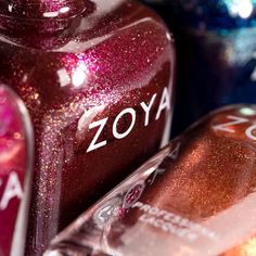 Discover luscious jewel-toned shades to wear this winter, sure to ignite your polish curiosity!  Shown: #ZoyaIndia and #ZoyaAutumn  #everydayzoya #nails #love