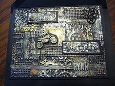 Beyond the Fringe Crafts: Metal Foil Card