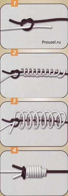 Как вязать узел морковка инструкция
