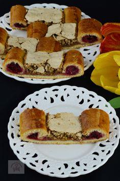 "Prajitura ""Ochi de paun"" - CAIETUL CU RETETE French Toast, Breakfast, Food, Morning Coffee, Essen, Meals, Yemek, Eten"