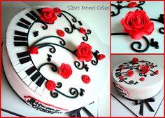 Music Cake Piano cake