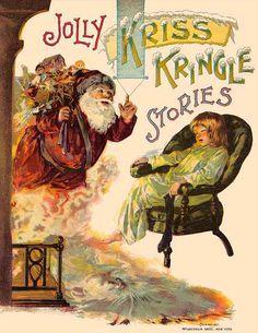 Old Santa book