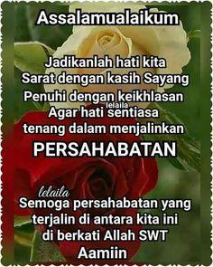 Morning Love Quotes, Good Night Quotes, Muslim Quotes, Islamic Quotes, Muslim Greeting, Assalamualaikum Image, Beautiful Names Of Allah, Islamic Posters, Doa Islam