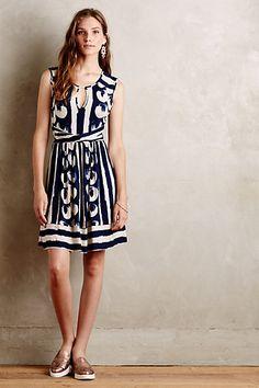 Sennebec Dress #anthropologie
