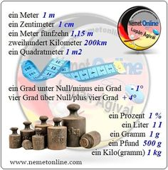 Szókincs :: Német Online - Lupán Ágival German Language, Sub Zero, Learn German, Math Resources