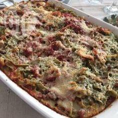 Foto della ricetta: Tagliatelle alla bolognese al forno