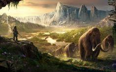 Far Cry Primal – Designing the Look of a Stone Age Fantasy Far Cry Primal, 3840x2160 Wallpaper, Cartoon Wallpaper Hd, Wallpaper Backgrounds, Nature Wallpaper, Game Design, Primal Game, Valhalla, Vida Animal