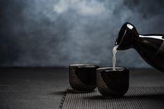 "Japanese 4.5/""H Porcelain Blue Mottled w// White Splashed Tea Sushi Lid Cover Mug"