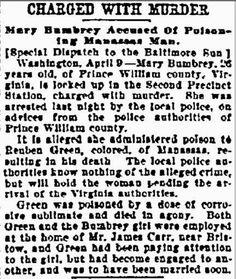 Thriller Thursday: Bumbrey/Green Murder #geneabloggers #genealogy