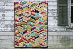 During Quiet Time: Indie Vibrations Quilt
