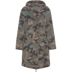 8acc3ebf2484d Valentino Camouflage-Printed Cotton Parka ( 3