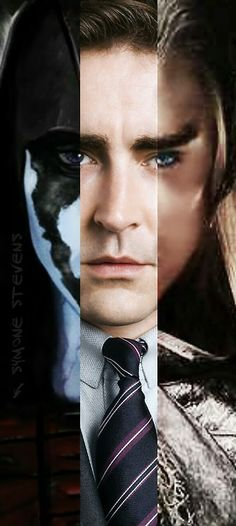 Faces of Lee Pace