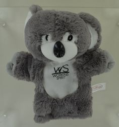 Cute as a .. koala. Our client took these little promotional koalas to the USA for an event. A hit !