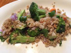 Thai  Veggie Quinoa bowl recipe